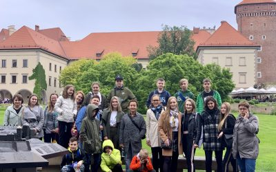 Taking our children to Krakow COPE conference